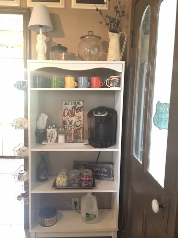 keurig machine coffee station